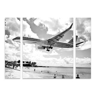 Trademark Fine Art Preston 'American Airliner' Large Multi-panel Art Set