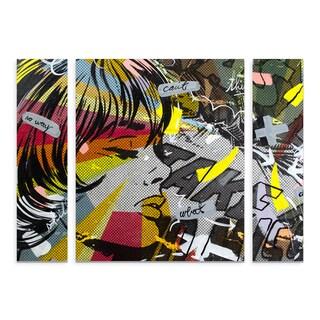 Dan Monteavaro 'Take Away' Multi Panel Art Set Large