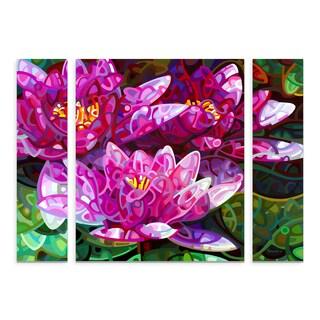 Trademark Fine Art Mandy Budan 'Triumvirate' Multi-panel Canvas Art Set