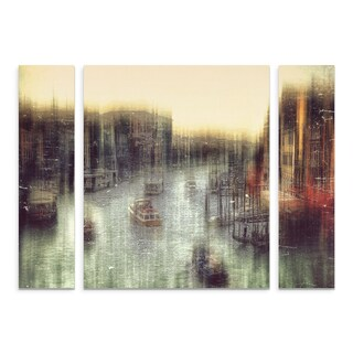 Trademark Fine Art Krisztina Lacz 'Untitled' Multi-panel Canvas Art Set