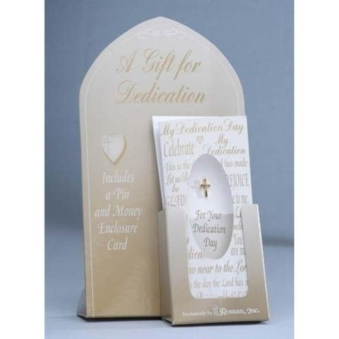 Dedication Day Cross Pin With Money Card Envelope #11053