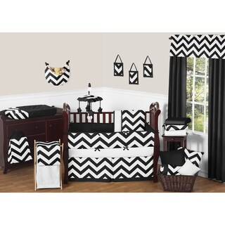 Sweet Jojo Designs Chevron 9-piece Crib Bedding Set (As Is Item)