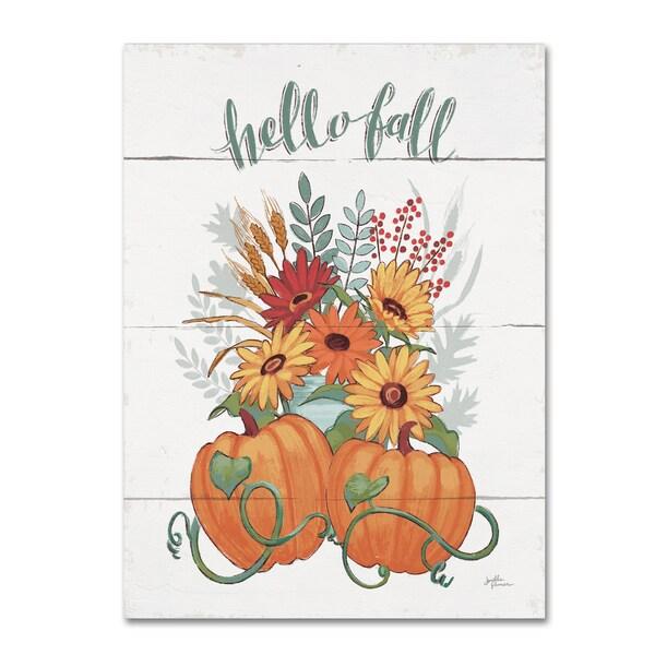 Janelle Penner 'Fall Fun II' Canvas Art