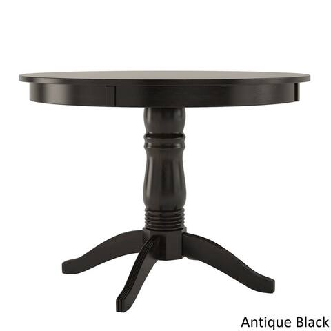 Wilmington II Round Pedestal Base Dining Table by iNSPIRE Q Classic