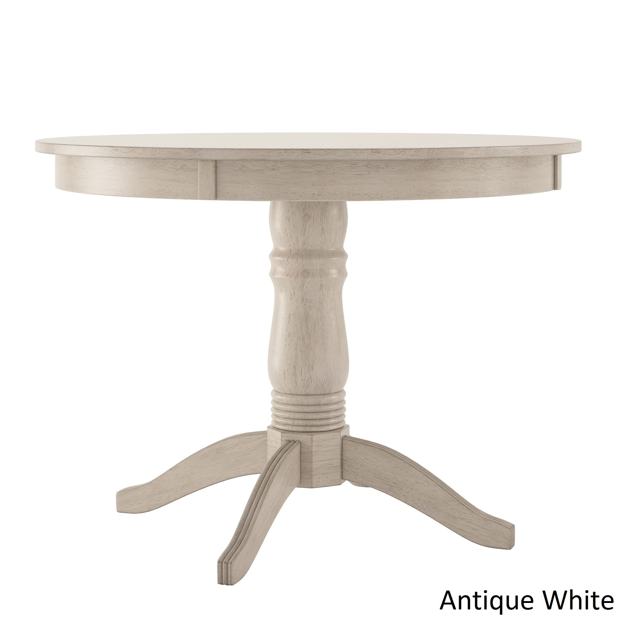 Wilmington II Round Pedestal Base Dining Table By INSPIRE Q Classic (More  Options Available)
