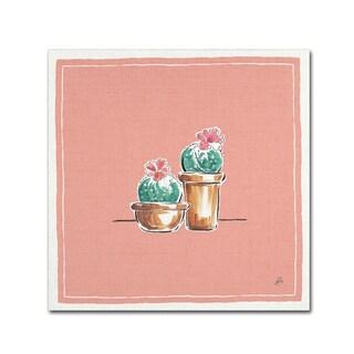 Daphne Brissonnet 'Desert Bloom XI' Canvas Art
