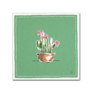 Daphne Brissonnet 'Desert Bloom X' Canvas Art