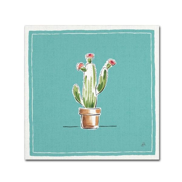 Daphne Brissonnet 'Desert Bloom VIII' Canvas Art