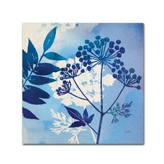 Studio Mousseau 'Blue Sky Garden I' Canvas Art
