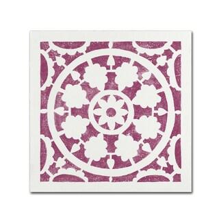 Moira Hershey 'Hacienda Tile VI' Canvas Art