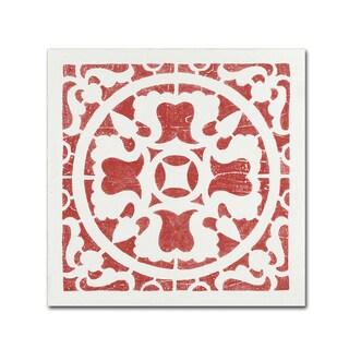 Moira Hershey 'Hacienda Tile I' Canvas Art