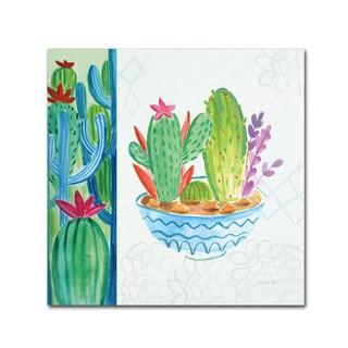 Farida Zaman 'Cacti Garden II no Birds' Canvas Art