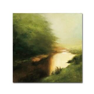 Julia Purinton 'Spring Morning' Canvas Art