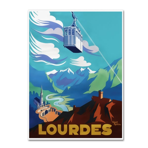 Vintage Lavoie 'Travel 281' Canvas Art