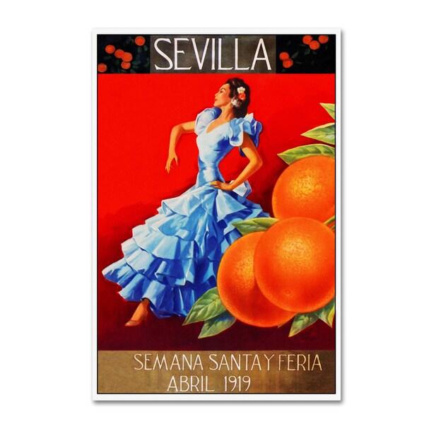 Vintage Lavoie 'Travel 266' Canvas Art