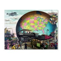 Vintage Lavoie 'Travel 241' Canvas Art