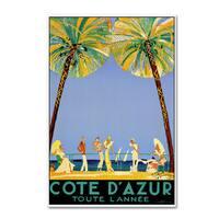Vintage Lavoie 'Travel 48' Canvas Art