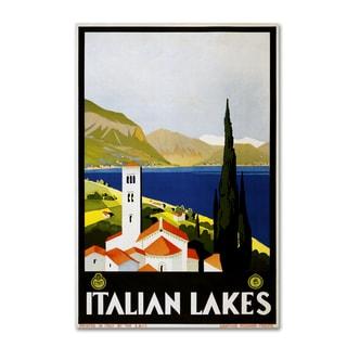 Vintage Lavoie 'Travel 3' Canvas Art
