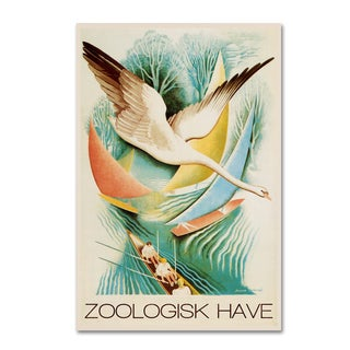 Vintage Lavoie 'The Zoo 6' Canvas Art