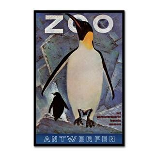 Vintage Lavoie 'The Zoo 5' Canvas Art