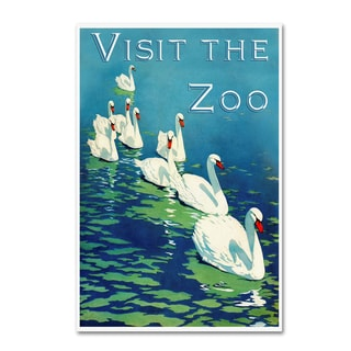 Vintage Lavoie 'The Zoo 2' Canvas Art