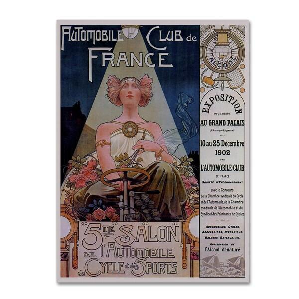 Vintage Lavoie 'Poster Livemont 1902' Canvas Art