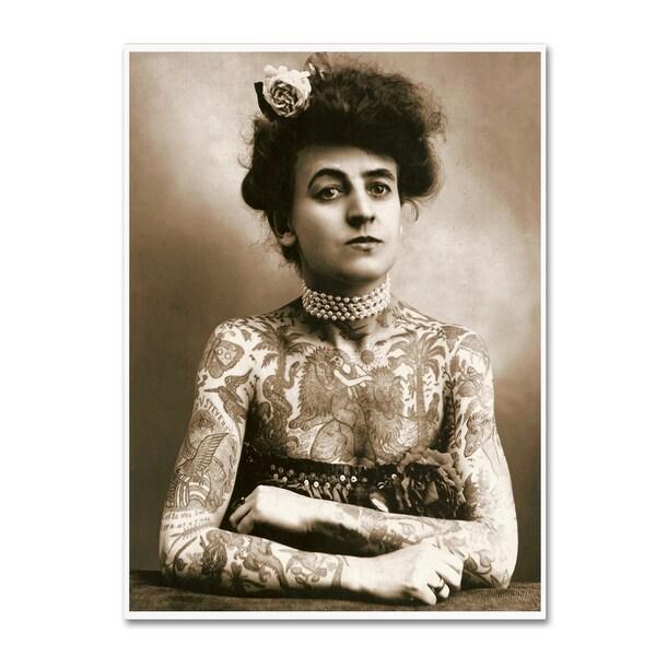Vintage Lavoie 'Maud Wagner 1911' Canvas Art