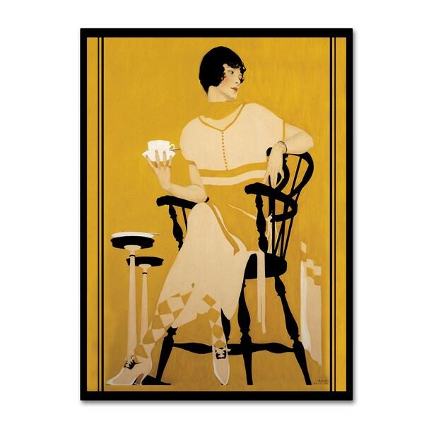 Vintage Lavoie 'Fashion Women 29' Canvas Art