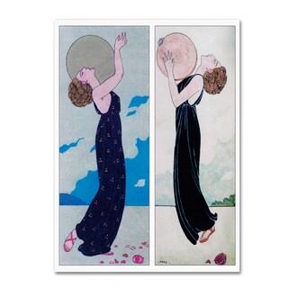 Vintage Lavoie 'Fashion 1' Canvas Art