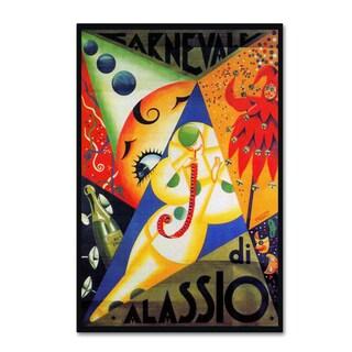 Vintage Lavoie 'Circus 11' Canvas Art