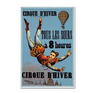 Vintage Lavoie 'Circus 3' Canvas Art
