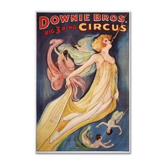 Vintage Lavoie 'Circus 2' Canvas Art