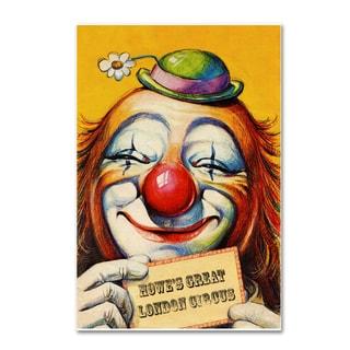 Vintage Lavoie 'Circus 1' Canvas Art