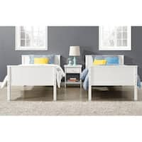 Avenue Greene Ivy White Twin over Twin Bunk Bed