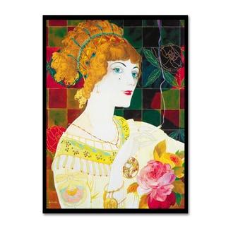 Vintage Lavoie 'De Feure Smoking Woman Ii' Canvas Art