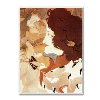 Vintage Lavoie 'De Feure La Femme Fatale' Canvas Art