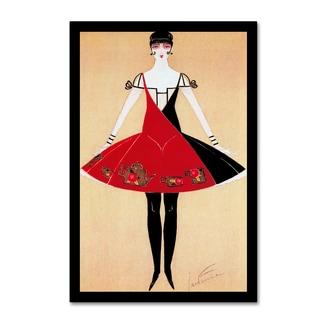 Vintage Lavoie 'De Feure Deco' Canvas Art