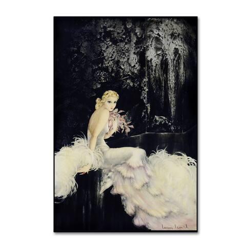 Vintage Lavoie 'Deco 3' Canvas Art