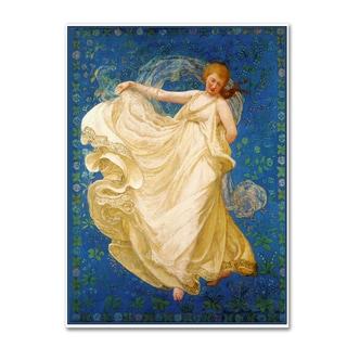 Vintage Lavoie 'The Breeze 1895' Canvas Art