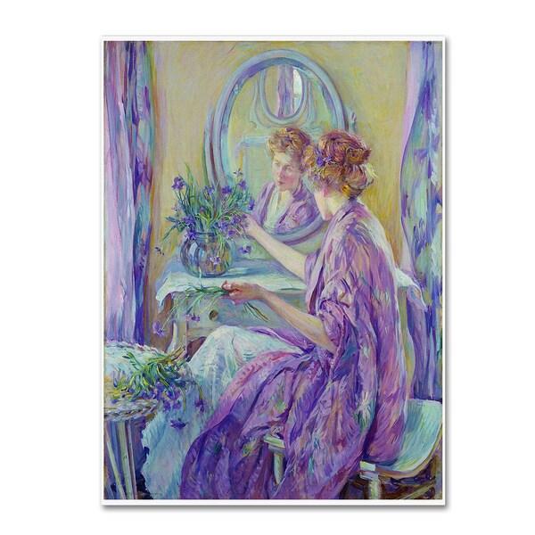 Vintage Lavoie 'Ad 33' Canvas Art
