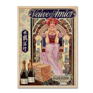Vintage Lavoie 'Spirits 8' Canvas Art