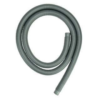 """Heavy-Duty Silver Pool Filter Connect Hose - 9' x 1.25"""""""