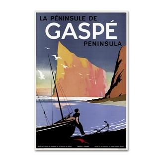 Vintage Lavoie 'Travel 256' Canvas Art