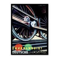 Vintage Lavoie 'Travel Rail 11' Canvas Art