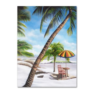 Geno Peoples 'Palm Beach' Canvas Art