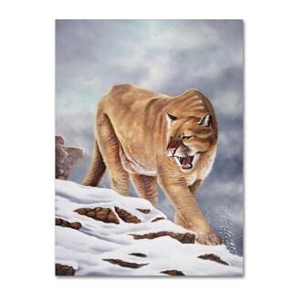 Geno Peoples 'Cougar' Canvas Art