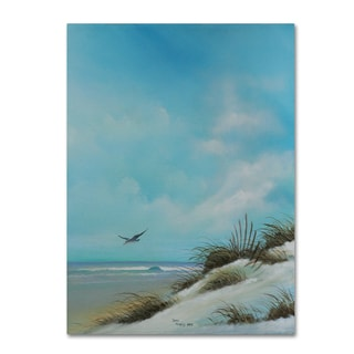 Geno Peoples 'Beach 2' Canvas Art