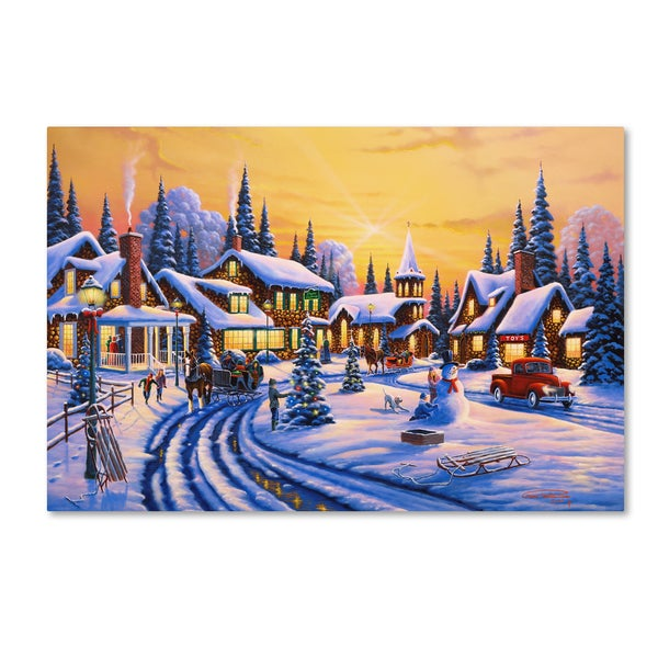 Shop Geno Peoples A Christmas Story Canvas Art Free