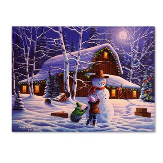 Geno Peoples 'The Joy of Christmas' Canvas Art