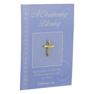 Set of 12 Religious Christening Blessing Cross Pins #40434 https://ak1.ostkcdn.com/images/products/17960028/P24136613.jpg?impolicy=medium